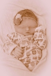 Born so quick and gone too soon.  Click here to read her birth and passing story